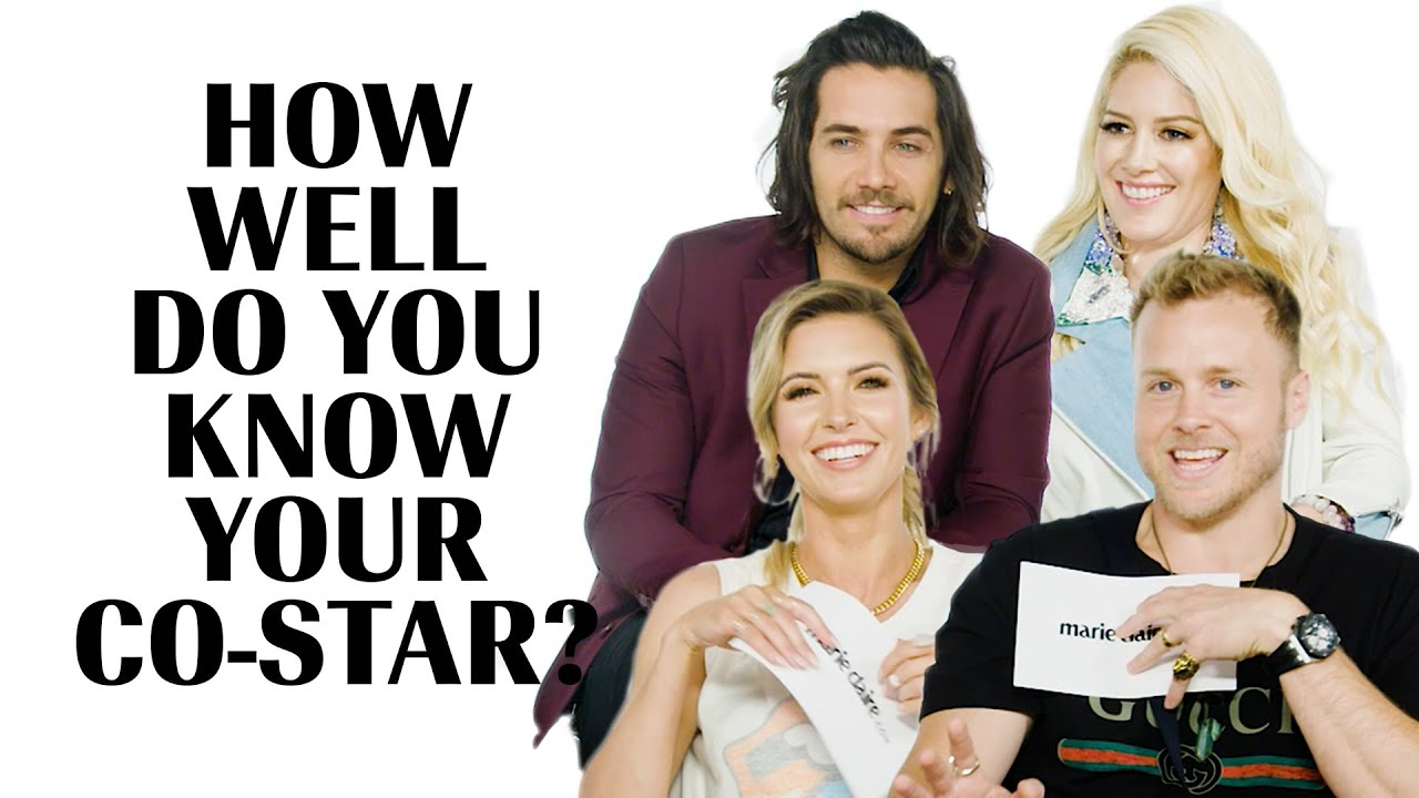 The Hills | How Well Do You Know Your Co-Star | Marie Claire