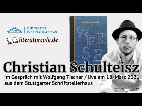 Autor Christian Schulteisz (»Wense«) im Gespräch mit Wolfgang Tischer