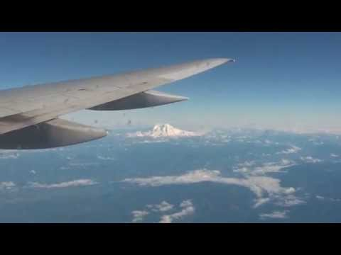 Delta Airlines Boeing 757-200 Landing at Seattle-Tacoma International Airport