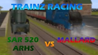 Trainz Racing: Mallard vs SAR 520 ARHS