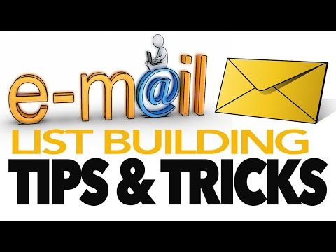 email list building tips + how to build an email list + quality list building tips