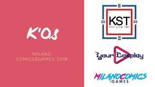K'OS - KPOP CONTEST at Milano Comics&Games 2018