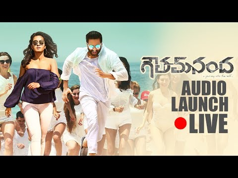 Goutham Nanda Movie Audio Launch LIVE |  Gopichand | Hansika | Catherine Tresa | TFPC