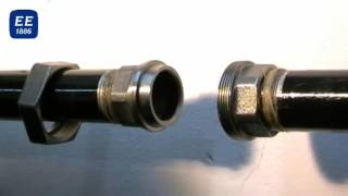 The proper assembling by using taper union - Malleable Iron Fittings