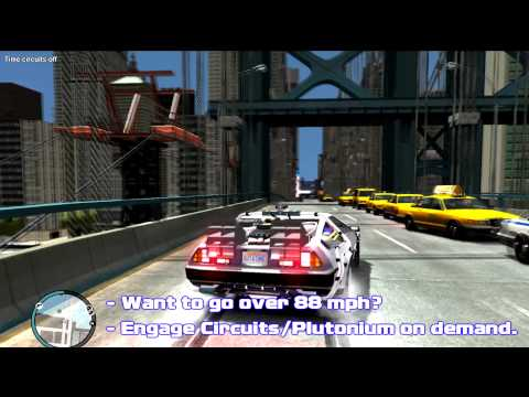 Grand Theft Auto IV: Hill Valley - [Back to the Future Mod Showcase]