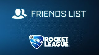 Rocket League® - Friends List Trailer
