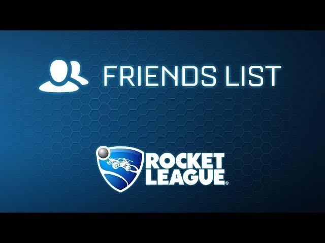 Rocket League® - Friends List Trailer