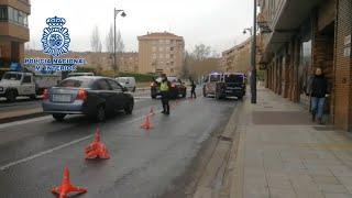 Policía Nacional y Policía Local realizan controles en Logroño