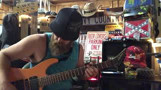 BackWoods MoonShine Bandits On the Run Guitar Cover