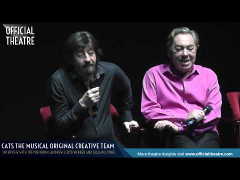 Andrew Lloyd Webber Trevor Nunn Gillian Lynne interview 2014