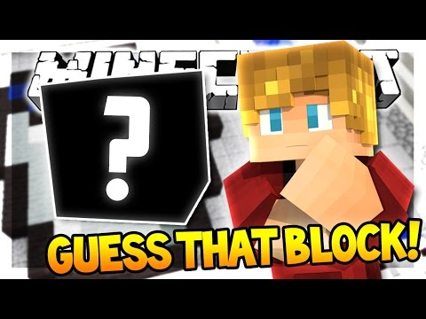 GUESS THAT BLOCK! | Pixel Drop (Minecraft 1.9 Guessing Game)