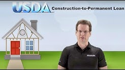 How do you qualify for a USDA new construction loan with no down payment?
