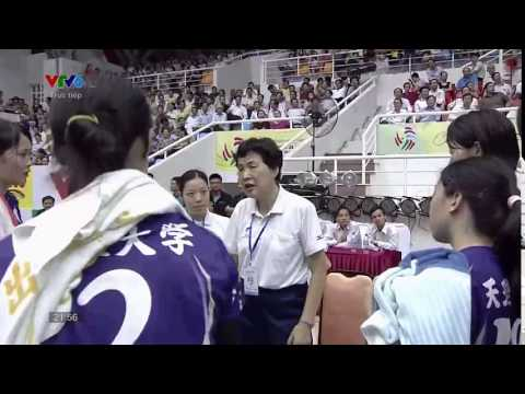 VTV Bình Điền Long An Vs Tenri (Japan) -  Giải Bóng Chuyền Nữ Quốc Tế Cup VTV Bình Điền 2015