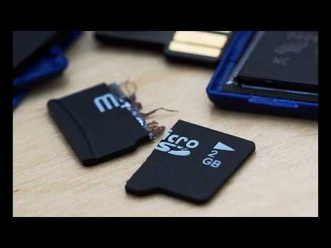 Как удалить с карты памяти файлы которые не удаляются
