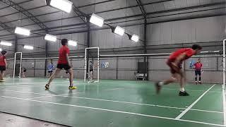 Trường - Trà vs Gia Linh - Hoài Linh | NTH  Badminton Club