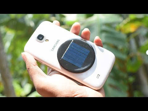 Solar Cell Phone Charger Kit with Free PowerBank from YouTube · Duration:  2 minutes 11 seconds