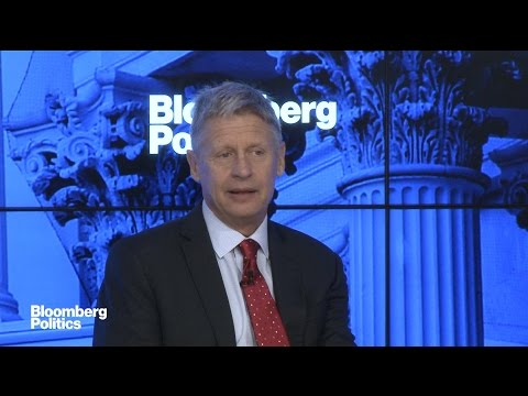 Gary Johnson: Can't Win Without Being in Debate