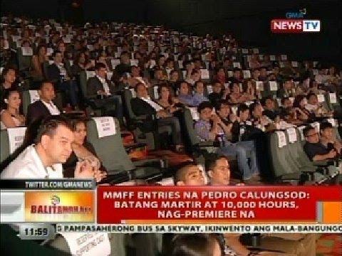 BT: MMFF entries na Pedro Calungsod: Batang Martir at 10,000 Hours, nag-premiere na