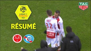 Stade de Reims - RC Strasbourg Alsace ( 2-1 ) - Résumé - (REIMS - RCSA) / 2018-19