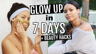HOW TO GLOW UP IN 7 DAYS | 8 Beauty Hacks to Glow Up FAST