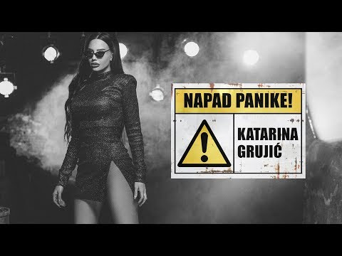 Katarina Grujić - Napad panike (Official Video 4k)