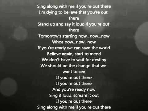 John Legend   If You're Out There Lyrics