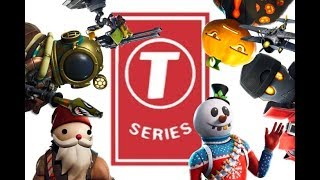 T-SERIES GETS DESTROYED BY EPIC FORTNITE GAMERS!!!!!