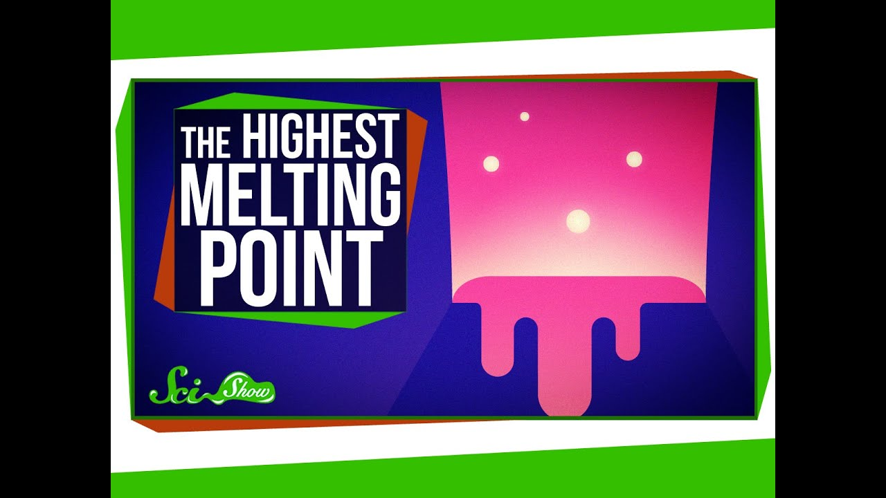 The Hunt for the Highest Melting Point - YouTube