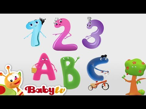 ABC And Numbers Song Collection For Kids | BabyTV