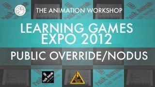 Public Override - Nodus - Music educational game - Learning Games Expo 2012 - Denmark