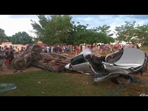 Descarrilamento em Corumbá (MS), faz uma vítima