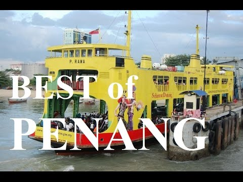 Best of Penang - Ferry Ride From Butterworth To Penang Island HD