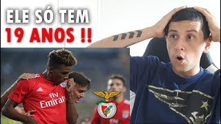 BRASILEIRO REAGINDO A GEDSON FERNANDES | SL Benfica | Skills & Goals