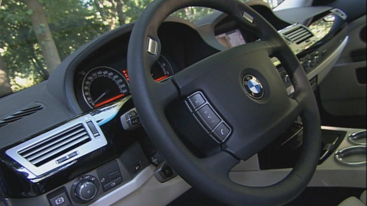 2007 BMW Hydrogen 7 - Interior - YouTube