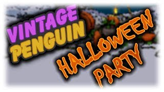 Vintage Penguin: Halloween Party