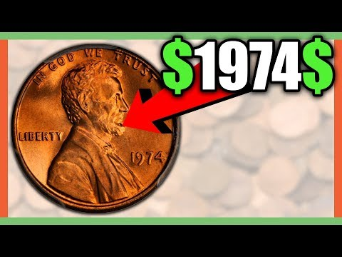 WHAT IS A 1974 PENNY WORTH? RARE PENNIES TO LOOK FOR IN CIRCULATION!!