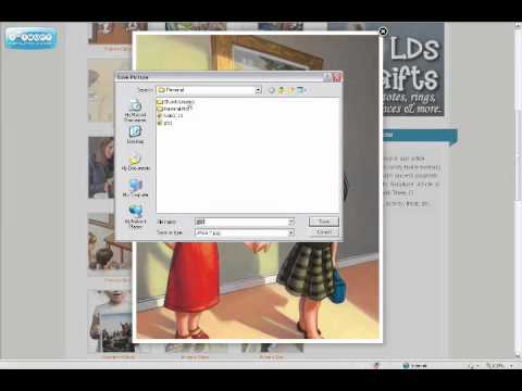 How To Save Clipart on LDSClipart.com