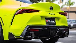 LOUDEST EXHAUST 2020 Toyota Supra!