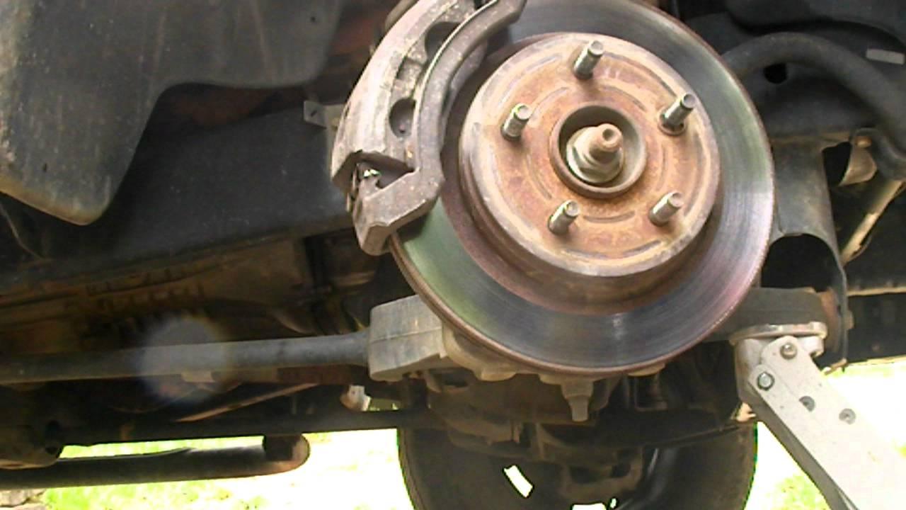 how to change brake pads on dodge ram  YouTube