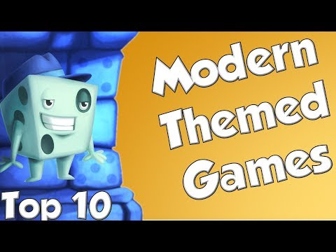 Top 10 Modern Themed Games - with Tom Vasel