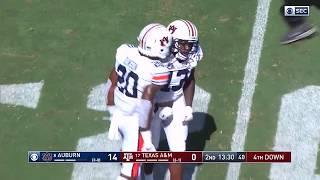 <b>Auburn Football</b> vs Texas A&M Highlights