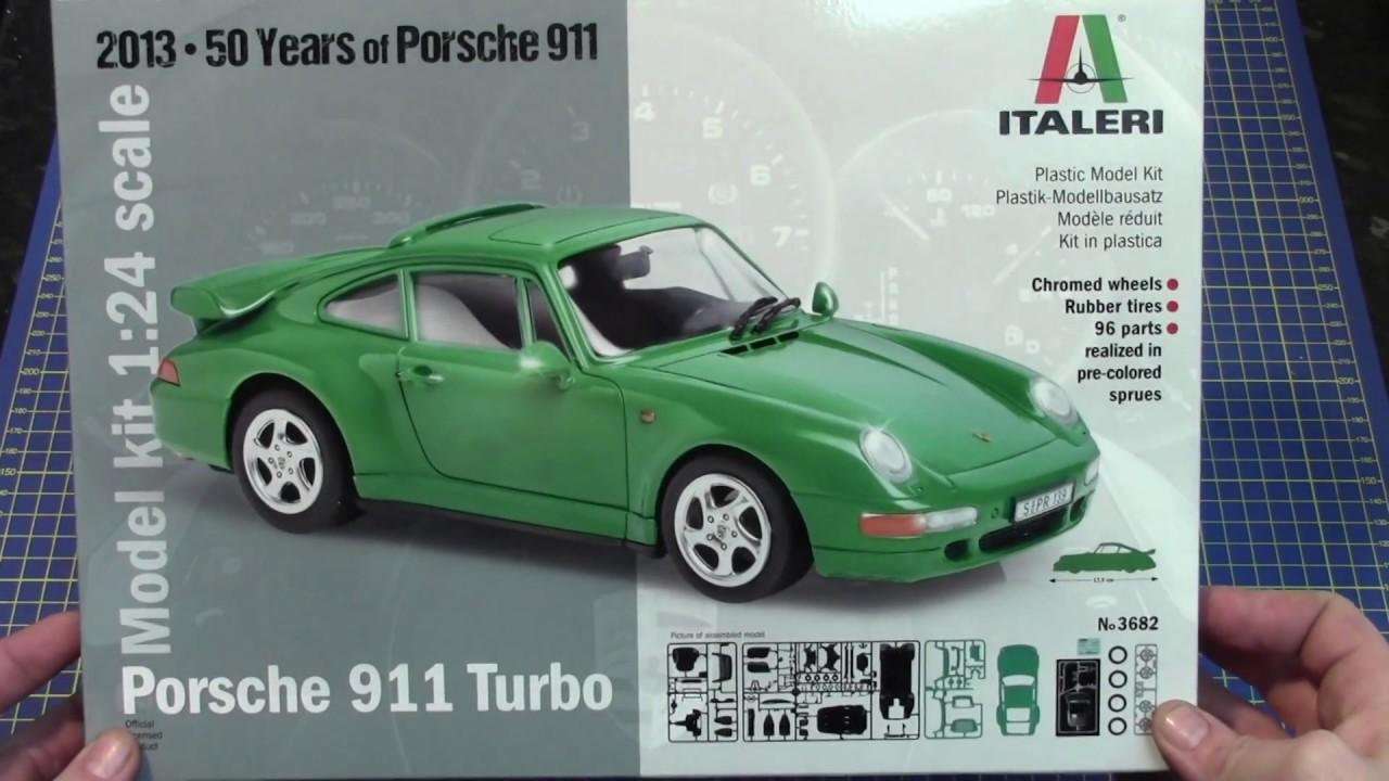 Italeri 1 24 Porsche 911 Turbo 3682 Www Emodels Co Uk Youtube