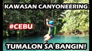 Kawasan Canyoneering in South Cebu