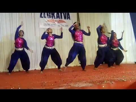 CHINMAYA MISSION COLLEGE THRISSUR. BEST DANCE PERFORMANCE    ZLOKATVA