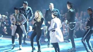 Madonna sings Deeper and Deeper in Detroit