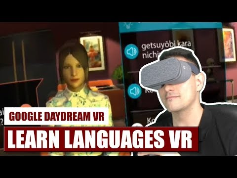 Learn Languages in VR with Mondly for Daydream VR! Hands-On Review with Japanese and Spanish!