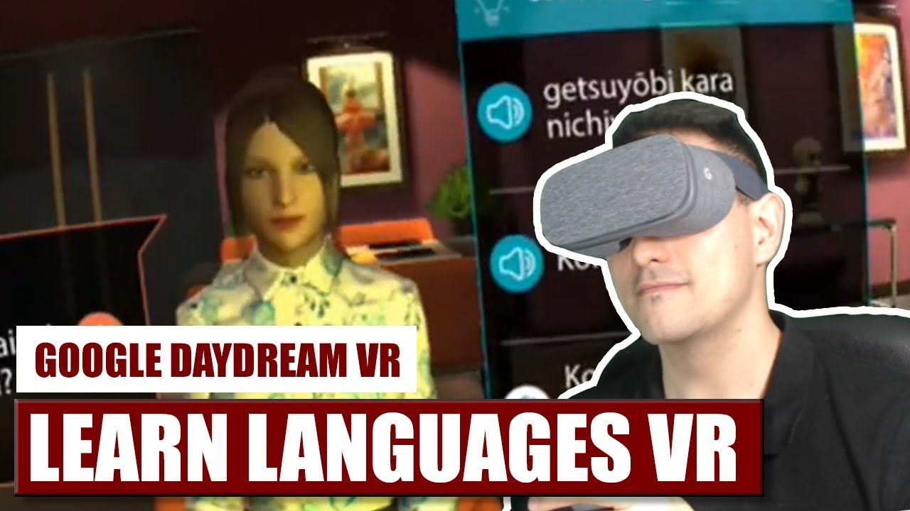 English In Italian: Learn Languages In VR With Mondly For Daydream VR! Hands