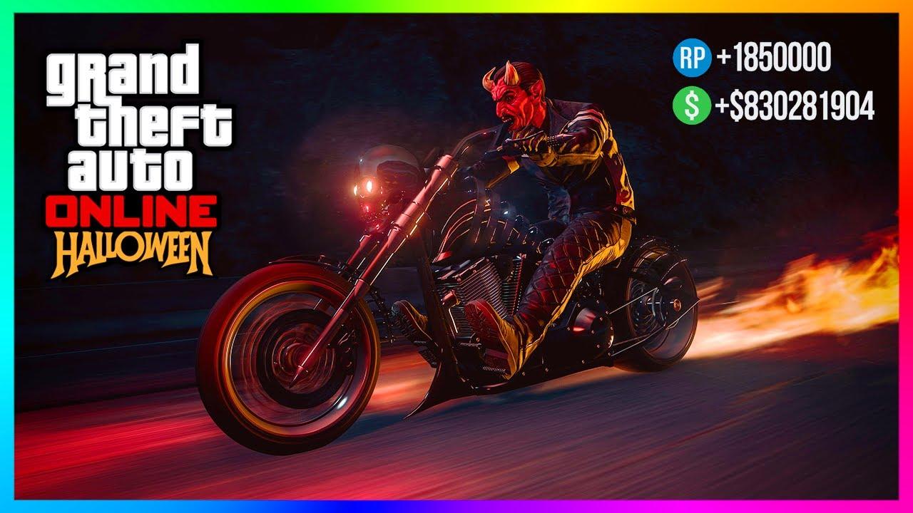 Halloween 2020 For Free Online GTA 5 Online Happy Halloween 2020 DLC Update   FREE Items, Bonus