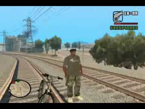 GTA SA Russian Train Mods - YouTube