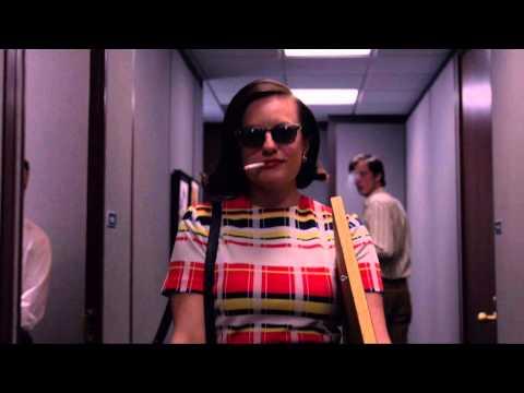Peggy Olson walks into McCann Erickson like a badass